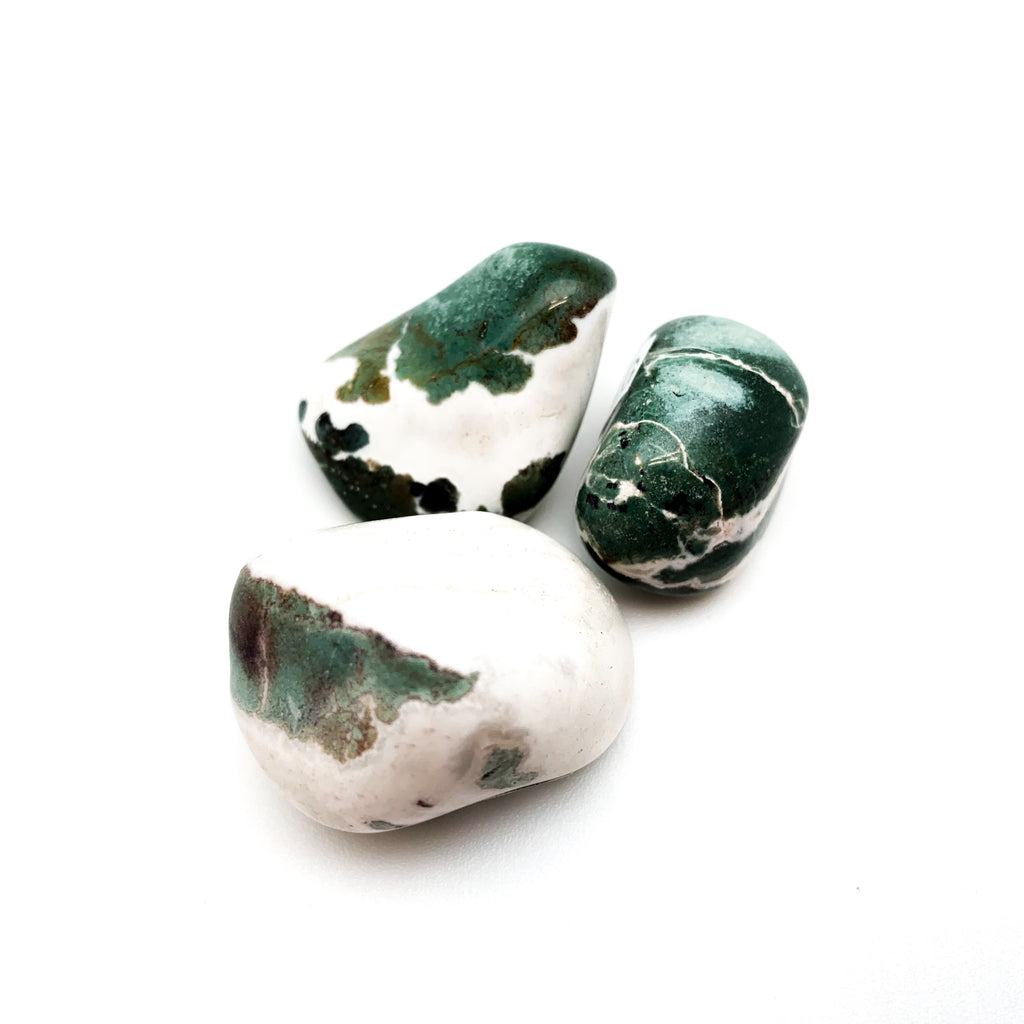 Sardonyx Green Tumbled