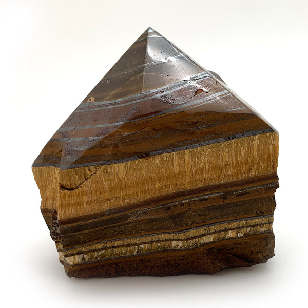 Tiger Eye Power Point for opportunity, protection, balance