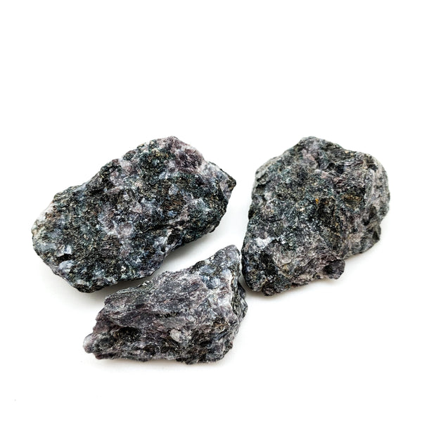 Indigo Gabbro Rough for raising energy, clearing the aura, amplifying psychic awareness