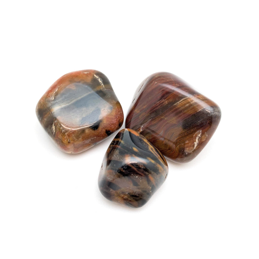 Agate Fine Lined for healing anger & looking for solutions