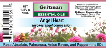 Gritman Essential Oils - Body Mind & Soul