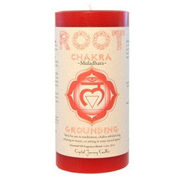 Root Chakra Candles - Body Mind & Soul
