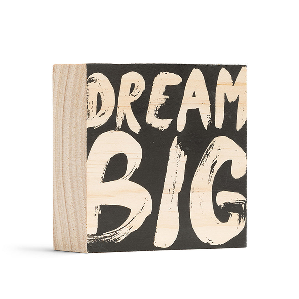 Dream Big Wood Art