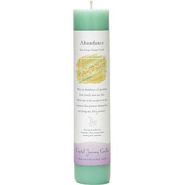 """Abundance"" Intention Candles - Body Mind & Soul"