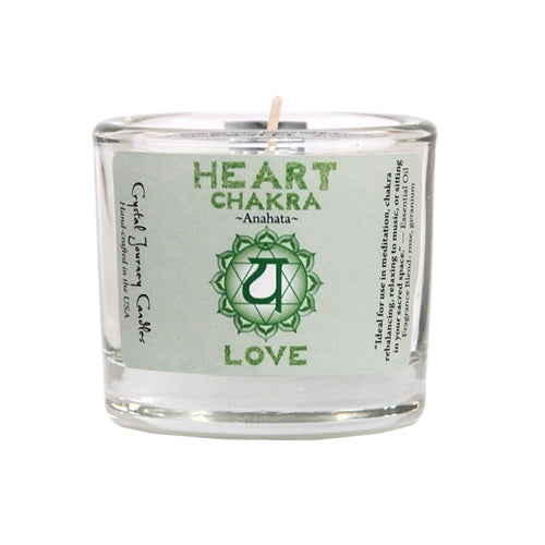 Heart Chakra Candles - Body Mind & Soul