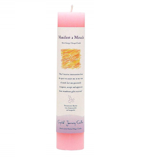 """Manifest a Miracle"" Intention Candles - Body Mind & Soul"