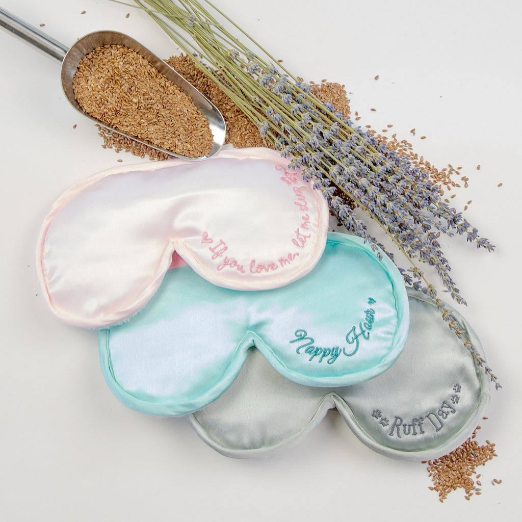 Lavender & Flax Eye Masks - Body Mind & Soul