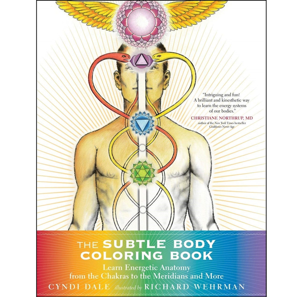 Subtle Body Coloring Book