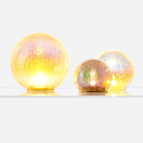 Magical Iridescent Glass Globe