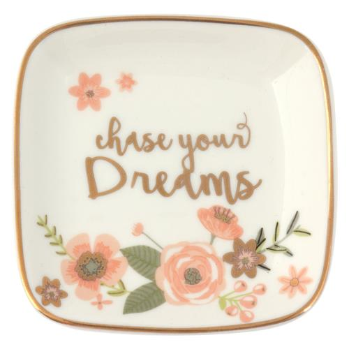 """Chase Your Dreams"" Trinket Tray"