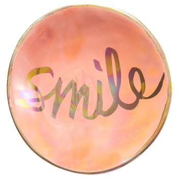 Smile Iridescent Ring Bowl