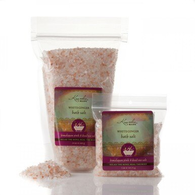 White Ginger Bath Salts