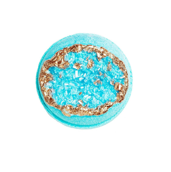 Amazonite Geode Calming Bath Bomb