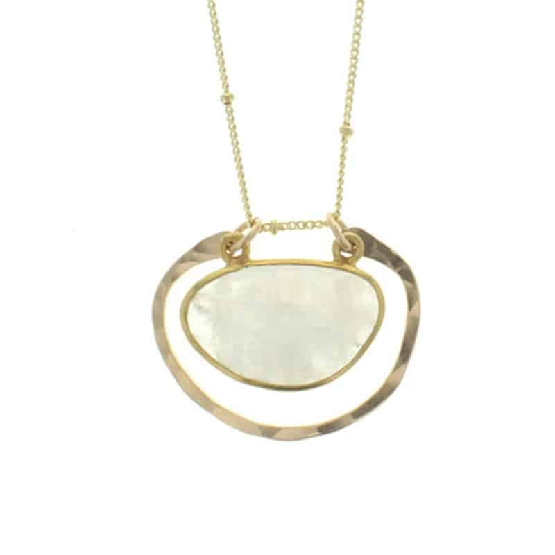 Amulet Moonstone Necklace