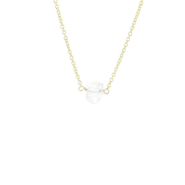Herkimer Diamond Remy Necklace - Body Mind & Soul