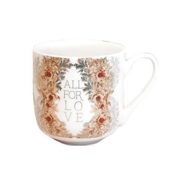 All For Love Ceramic Mug - Body Mind & Soul