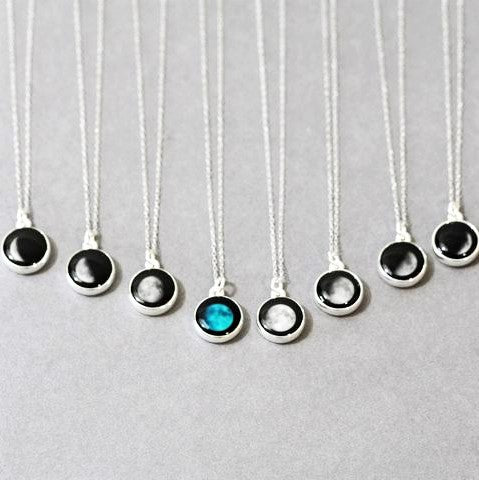 Moonglow Moon Phase Necklaces - Body Mind & Soul