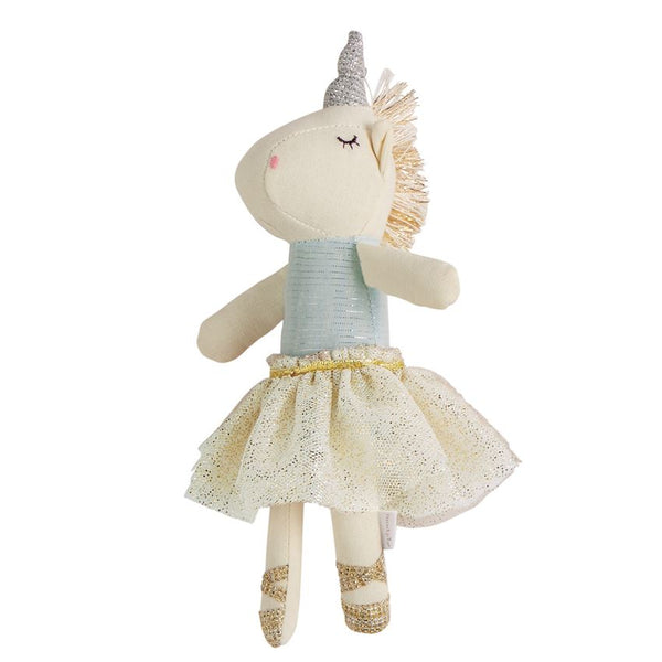 Plush Tutu Unicorn Rattles