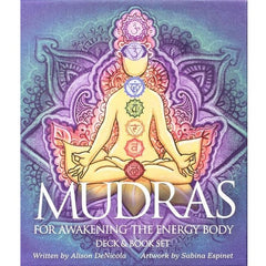 Mudras for Awakening the Energy Body Deck & Book Set