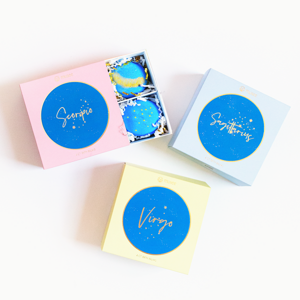 Zodiac Bath Balm Sets