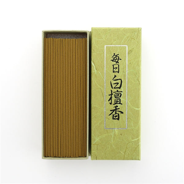 Mainichi Byakudan Sandalwood Incense