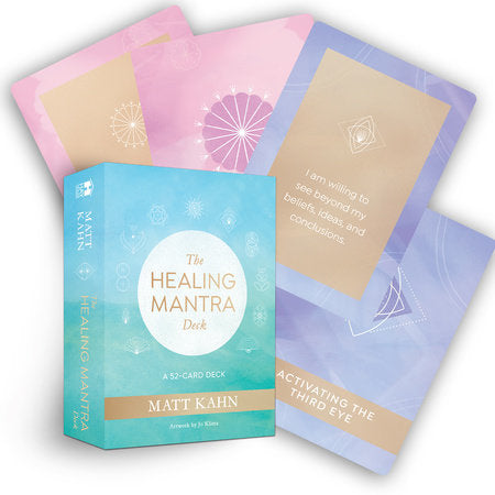 Healing Mantra Deck - Body Mind & Soul