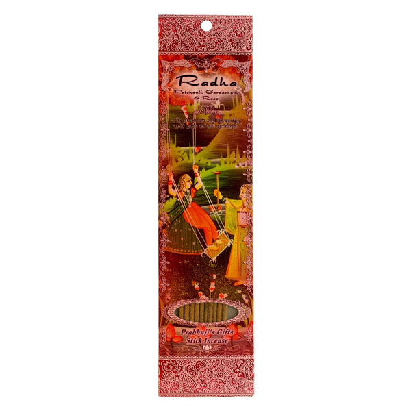 Radha: Patchouli, Cardamon & Rose Incense
