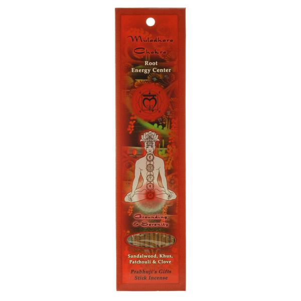 Prabhuji's Gifts Chakra Incense - Body Mind & Soul