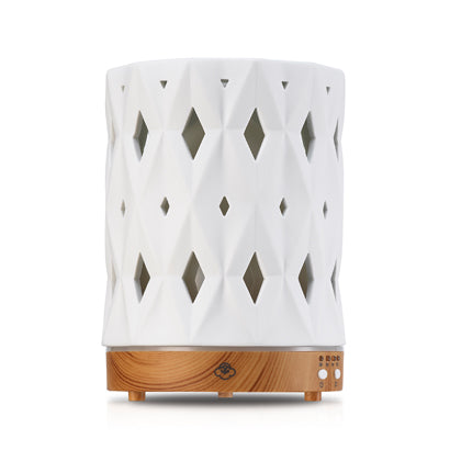 Zenith Diffuser with Wood Base - Body Mind & Soul