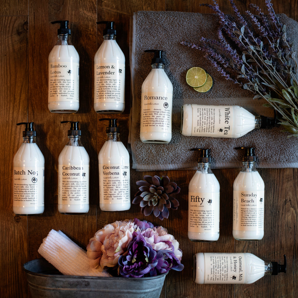 Simplified Goat Milk Lotions - Body Mind & Soul