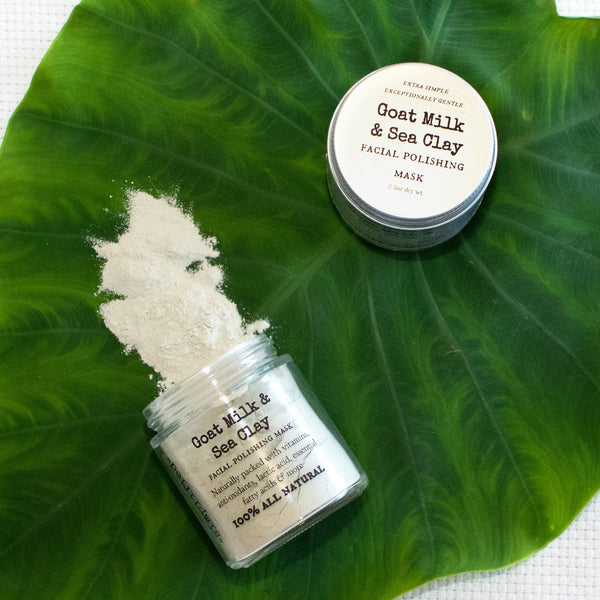 Goat Milk & Sea Clay Facial Polishing Mask