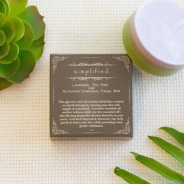 Lavender & Tea Tree Facial Bar