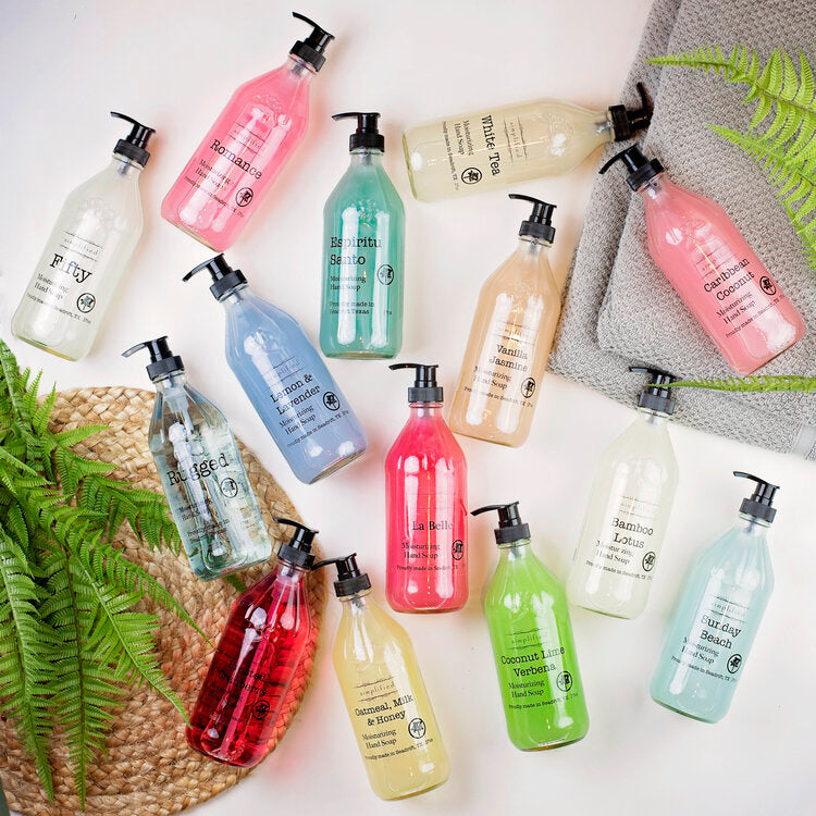 Simplified Moisturizing Hand Soaps - Body Mind & Soul