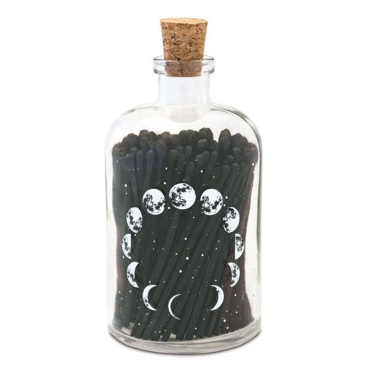 Large Astronomy Apothecary Match Bottle