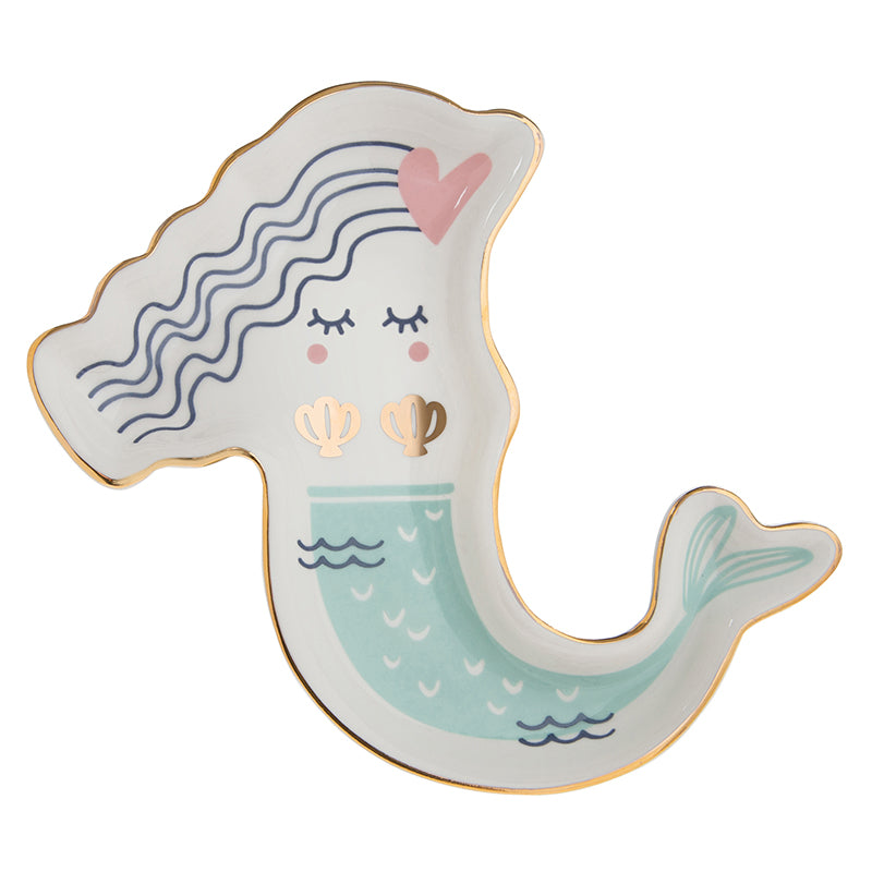 Pastel Mermaid Trinket Tray