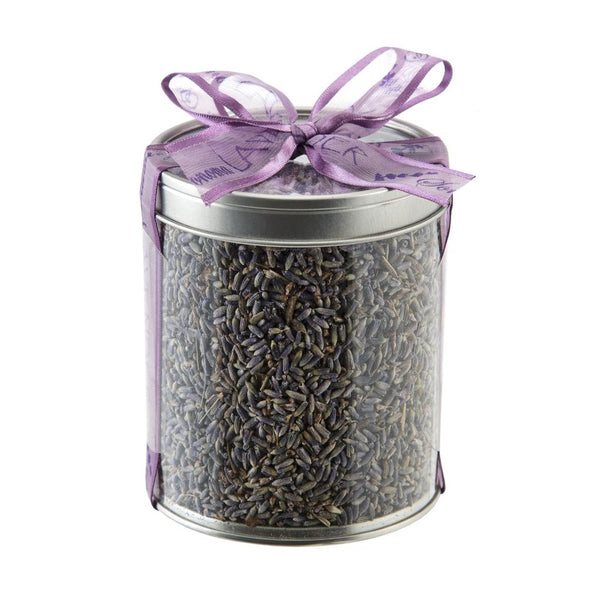 Dried Lavender Buds in Canister - Body Mind & Soul