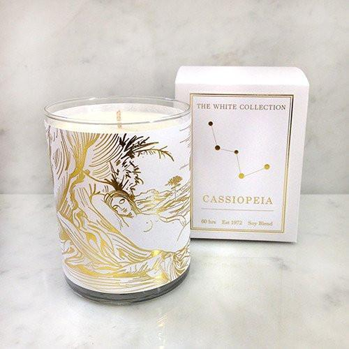 Cassiopeia Constellation Candle
