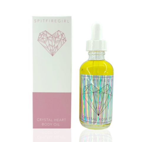 Crystal Heart Rose Body Oil