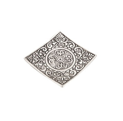 Square Aluminum Incense Burner