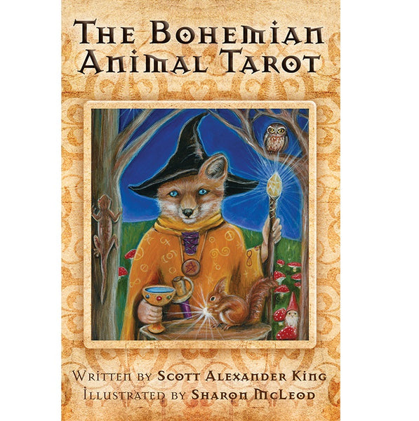 Bohemian Animal Tarot