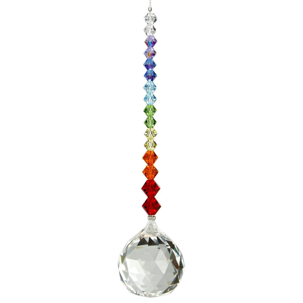 Crystal Daydreams Rainbow Ball Suncatcher