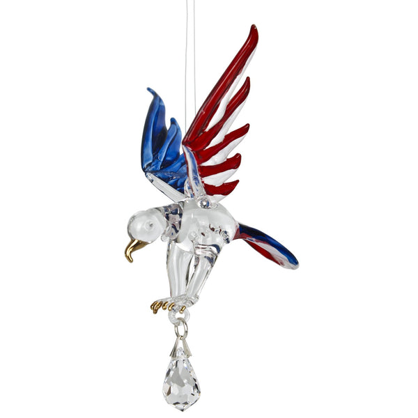 Crystal Fantasy Eagle Suncatcher - Body Mind & Soul