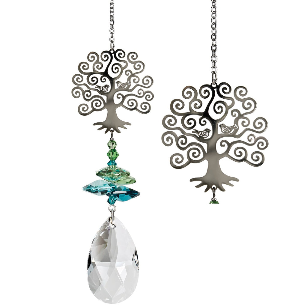 Crystal Fantasy Tree of Life Suncatcher