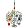Crystal Tree of Life Suncatcher