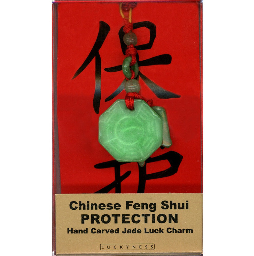 Protection Feng Shui Jade Charm - Body Mind & Soul