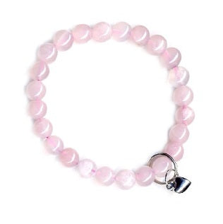 Rose Quartz Bracelet for Love and Friendship - Body Mind & Soul