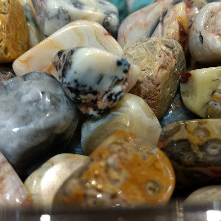 Crazy Lace Agate for laughter, joy, playfulness