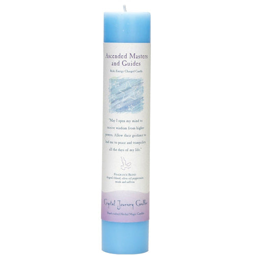 """Ascended Masters and Guides"" Intention Candle - Body Mind & Soul"