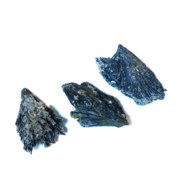 Black Kyanite Blades for protection, conflict, and grounding