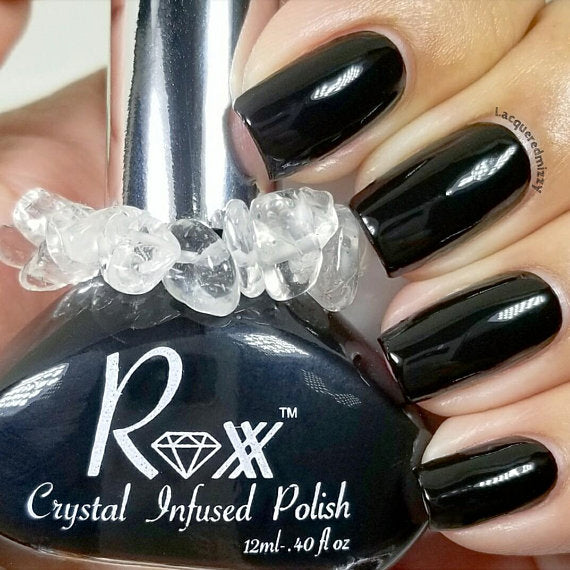 Crystal Infused Nail Polishs - Body Mind & Soul